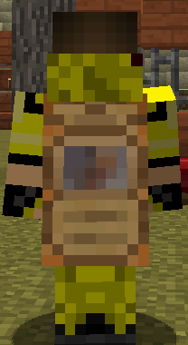 Minecraft Bacon Cape